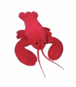 "Mary Meyer<br />Lobbie the Lobster 17"" Stuffed Animal"
