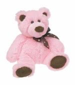 "Mary Meyer<br />Sweet Chocolate Pink Bear 11"" Stuffed Animal"