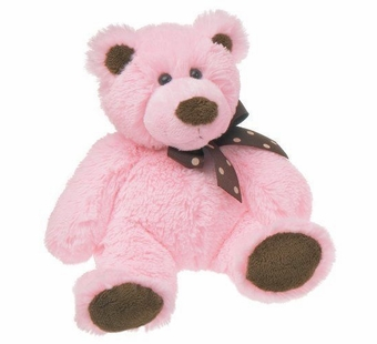 Mary Meyer<br />Sweet Chocolate Pink Bear 11