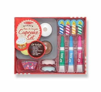 Melissa & Doug <br />Bake and Decorate Cupcake Set