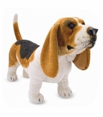 Melissa & Doug <br />Basset Hound Stuffed Animal