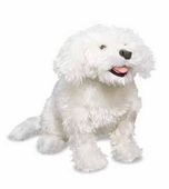 Melissa & Doug <br />Bichon Frise Stuffed Animal
