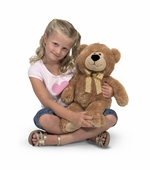 Melissa & Doug <br />Big Ferguson Bear Stuffed Animal