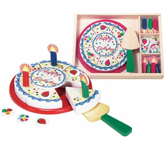 Melissa & Doug <br />Birthday Party Slice Cake