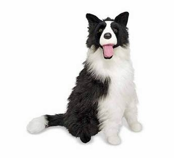 Melissa & Doug <br />Border Collie Stuffed Animal