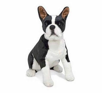 Melissa & Doug <br />Boston Terrier Stuffed Animal