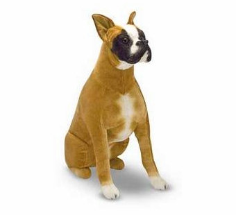 Melissa & Doug <br />Boxer Stuffed Animal