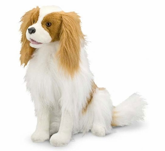 Melissa & Doug <br />Cavalier King Charles Spaniel Stuffed Animal