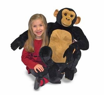 Melissa & Doug <br />Chimpanzee Stuffed Animal