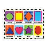 Melissa & Doug <br />Chunky Shapes Wooden Puzzle