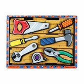 Melissa & Doug <br />Chunky Tools Wooden Puzzle