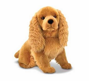 Melissa & Doug <br />Cocker Spaniel Stuffed Animal