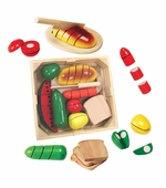 Melissa & Doug <br />Cutting Food Box