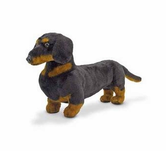Melissa & Doug <br />Dachshund Stuffed Animal