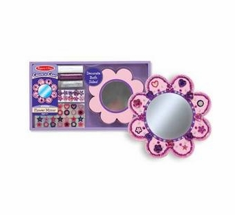 Melissa & Doug <br />Decorate Your Own Wooden Flower Mirror