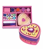 Melissa & Doug <br />Decorate Your Own Wooden Heart Chest