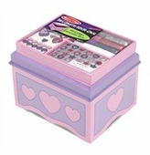 Melissa & Doug <br />Decorate Your Own Wooden Jewelry Box