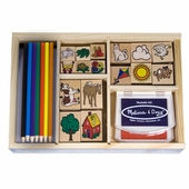Melissa & Doug <br />Deluxe Stamp Kit