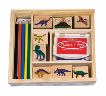 Melissa & Doug <br />Dinosaur Stamp Set
