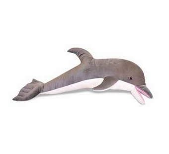 Melissa & Doug <br />Dolphin Stuffed Animal