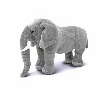 Melissa & Doug <br />Elephant Stuffed Animal