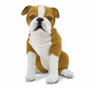 Melissa & Doug <br />English Bulldog Stuffed Animal