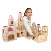 Melissa & Doug <br />Folding Princess Castle