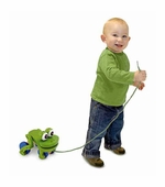 Melissa & Doug <br />Frolicking Frog Pull Toy