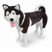 Melissa & Doug <br />Husky Dog Stuffed Animal