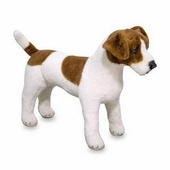 Melissa & Doug <br />Jack Russell Terrier Stuffed Animal