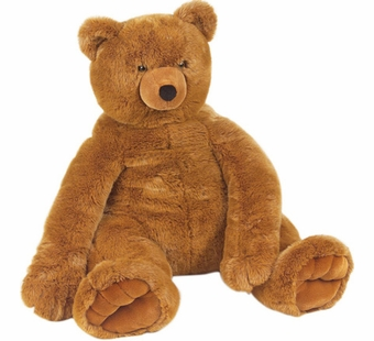 Melissa & Doug <br />Jumbo Brown Teddy Bear Stuffed Animal