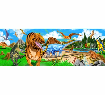 Melissa & Doug <br />Land of Dinosaurs Floor Puzzle