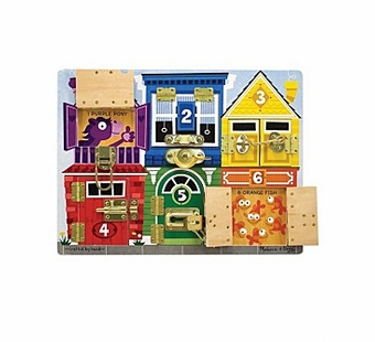 Melissa & Doug <br />Latches Board