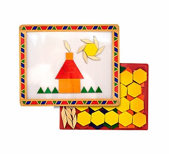 Melissa & Doug <br />Magnetic Pattern Blocks