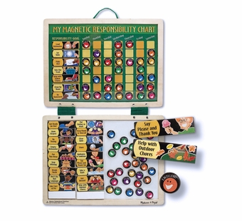 Melissa & Doug <br />Magnetic Responsibility Chart
