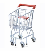 Melissa & Doug <br />Metal Grocery Cart