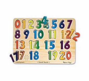 Melissa & Doug <br />Numbers Sound Puzzle