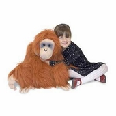Melissa & Doug <br />Oranguntan Stuffed Animal