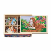 Melissa & Doug <br />Pets in A Box Wooden Puzzle