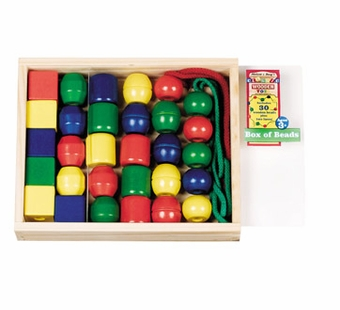 Melissa & Doug <br />Primary Lacing Beads