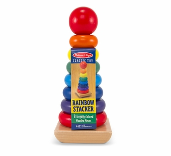 Melissa & Doug <br />Rainbow Stacker