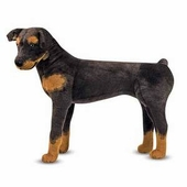 Melissa & Doug <br />Rottweiler Stuffed Animal