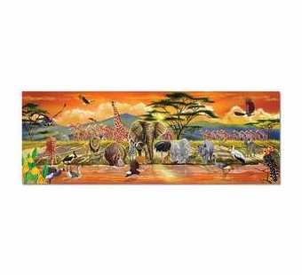 Melissa & Doug <br />Safari Floor Puzzle