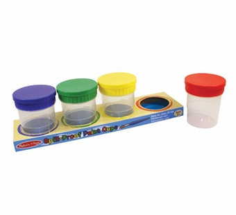 Melissa & Doug <br />Spill Proof Paint Cups