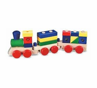 Melissa & Doug <br />Stacking Train