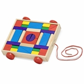 Melissa & Doug <br />Unit Blocks on Wheels