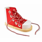 Melissa & Doug <br />Wood Lacing Sneaker