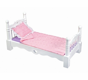 Melissa & Doug <br />Wooden Doll Bed