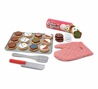 Melissa & Doug <br />Wooden Slice and Bake Cookie Set