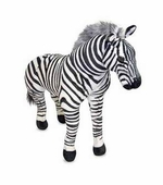 Melissa & Doug <br />Zebra Stuffed Animal